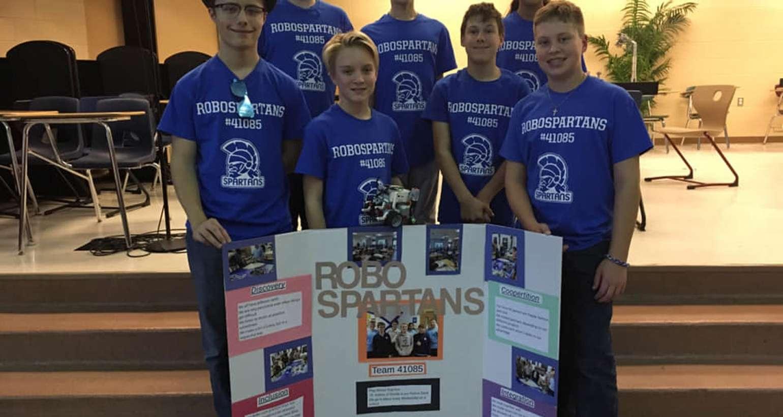 RoboSpartans compete in LEGO League Robotics Competition