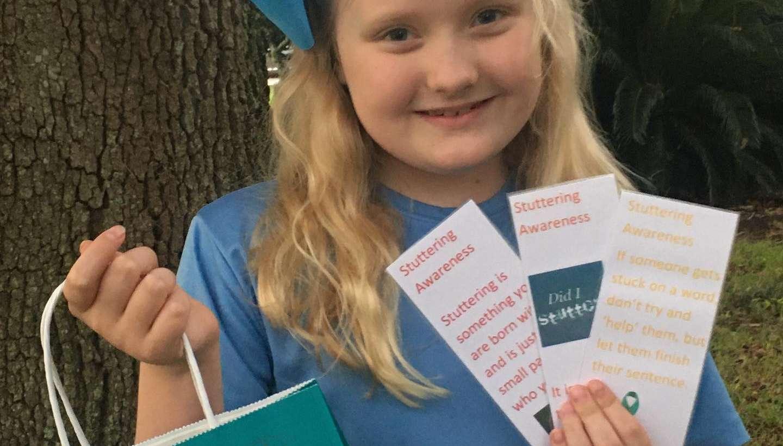 Student Raising Stuttering Awareness