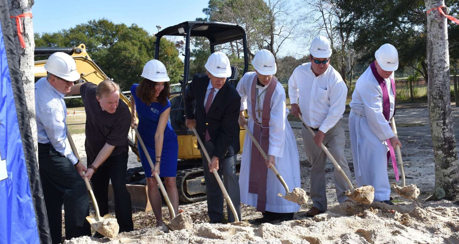 Gym Groundbreaking Ceremony